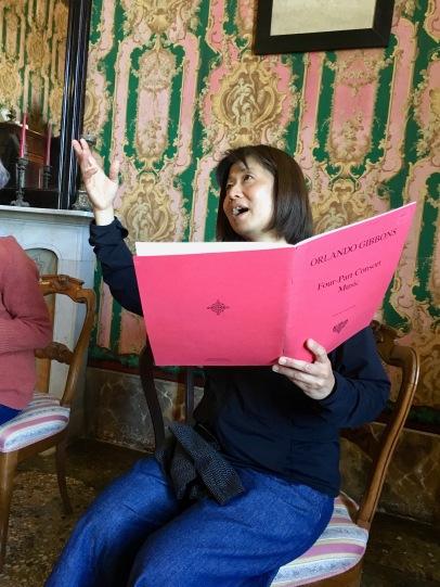 Asako, pink score for pink room